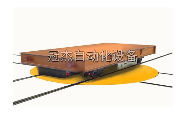 KPX交叉轨道电动平板车